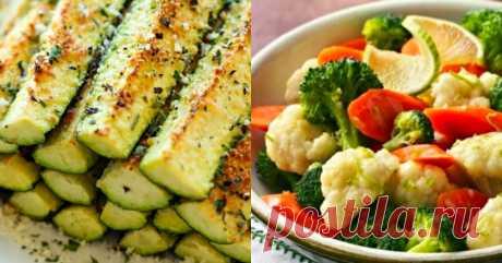 12 классных блюд, которые можно приготовить из овощей. Оздоровилась и похудела всего за неделю! - Кейс советов