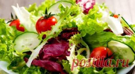 Салаты из свежих овощей - лучшие рецепты с фото