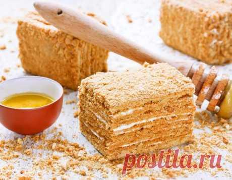 Самый вкусный медовик: рецепты от «Едим Дома» | Официальный сайт кулинарных рецептов Юлии Высоцкой