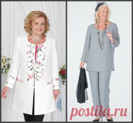 Образы для взрослых женщин, которые и на пенсии желают оставаться модными. | SVETLIFE | Яндекс Дзен