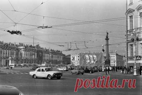 Дворцовая площадь. 1985 г.