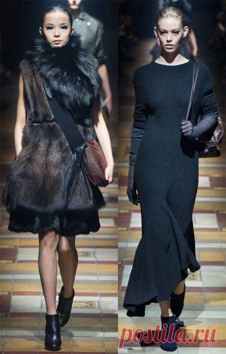 Теплые зимние платья 2016-2017 — разнообразие, комфорт и красота