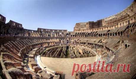 Римский Колизей изнутри
