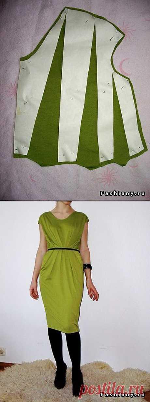 FashionMargoGirl: Трикотажное платье - мастер класс