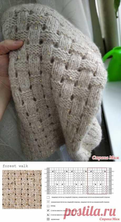 Детский свитер по мотивам 'Лесной прогулки' - Вязание - Страна Мам