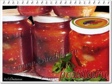 Баклажаны в аджике - рецепт с фото Рецепт баклажанов в аджике на зиму из моих закромов: очень вкусные баклажанчики, остренькие, кисло-сладкие и совсем не жирные.