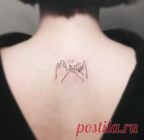 Маленькие татуировки для девушек: на руке, на запястье, на пальце, на шее, на ноге и спине (40 эскиза) ⭐ Забавник