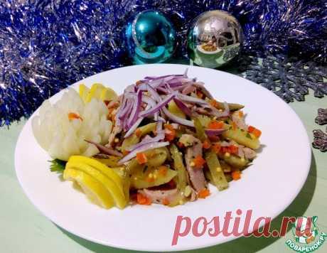 Салат с огурцом и ветчиной – кулинарный рецепт
