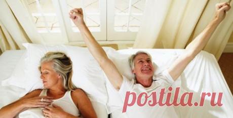 Сон пожилых людей и способы его улучшения