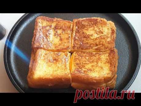 Французский тост с сыром