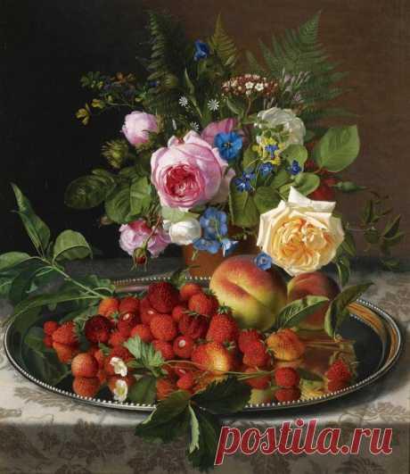 Отто Дидрик Оттезен (Otto Didrik Ottesen) и его цветочно-фруктовые натюрморты