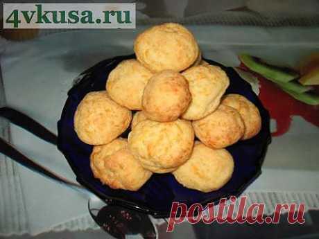 Мини-булочки с сыром и чесноком. Фоторецепт. | 4vkusa.ru
