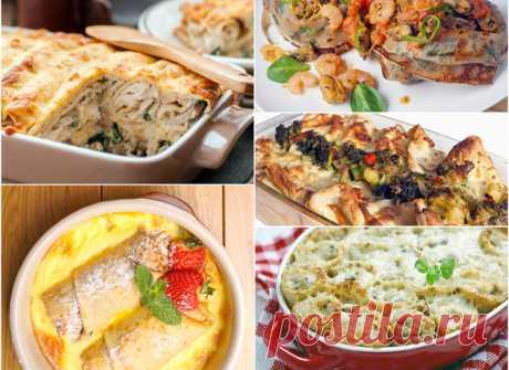 Фаршированные блины: ТОП-5 вкуснейших блюд, запеченных в духовке (фото) - tochka.net