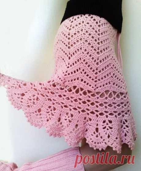 Free crochet patterns and video tutorials: crochet ruffle skirt free pattern