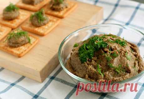 Паштет из говяжьей печени - лучшие рецепты
