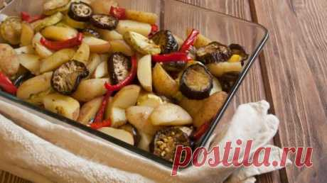 Запеченный картофель с овощами, пошаговый рецепт с фото Запеченный картофель с овощами. Пошаговый рецепт с фото, удобный поиск рецептов на Gastronom.ru