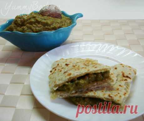 Лепешки с соусом Гуакамоле - пошаговый рецепт с фото