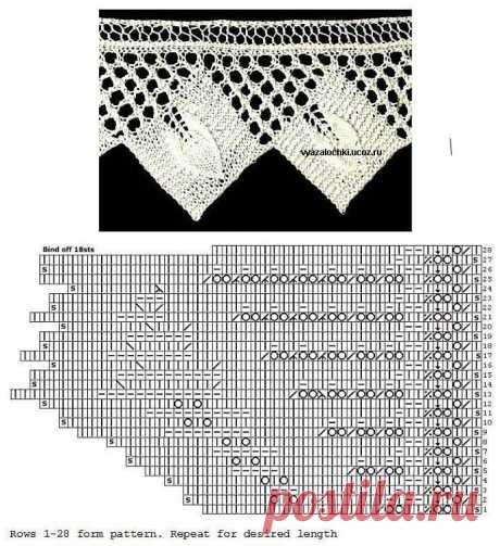 30 Puntos y Puntillas Dos Agujas \/ Patrones   Crochet y Dos agujas - Patrones de tejido