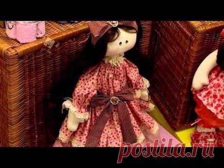 Boneca Claudia - Coleção Primavera - Silvia Torres