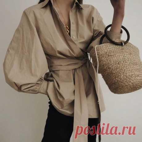 Элегантные образы с интересными блузами
