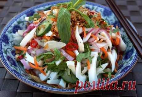 Las ensaladas con el rábano: el gusto brillante y la utilidad enorme \/ las recetas Simples