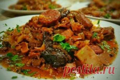 Бигос по-польски рецепт – польская кухня: основные блюда. «Еда»