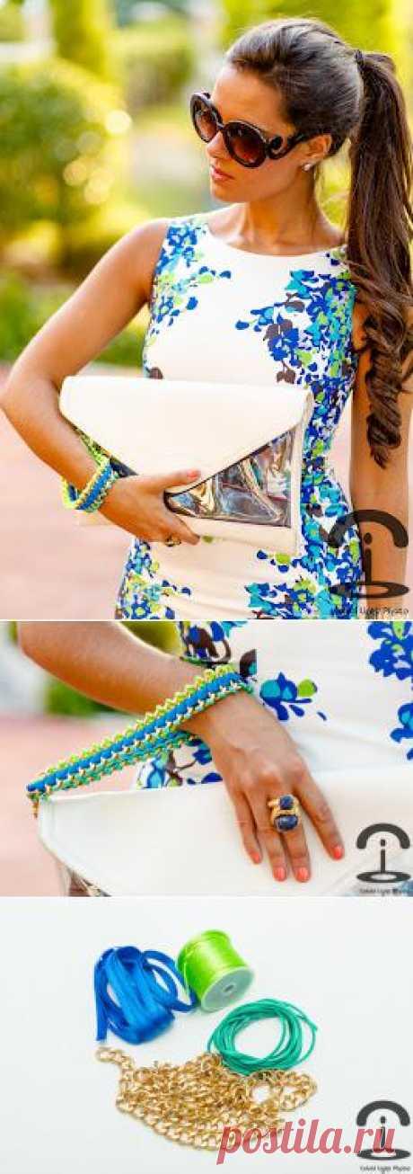 Ремешок для сумочки своими руками