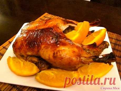 Утка, запеченная с апельсинами - Рецепты для очень занятой мамы - Страна Мам