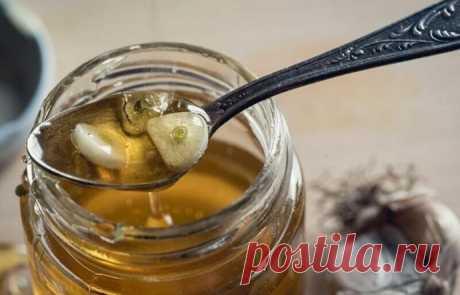 Чесночный мёд для здоровья