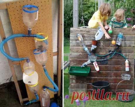 игры с водой для детей своими руками.