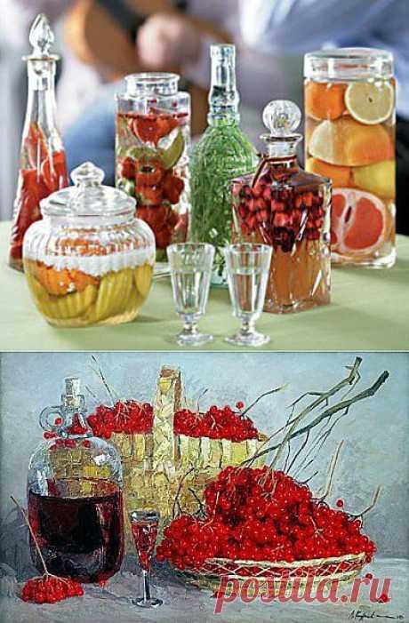 Традиционные русские народные напитки