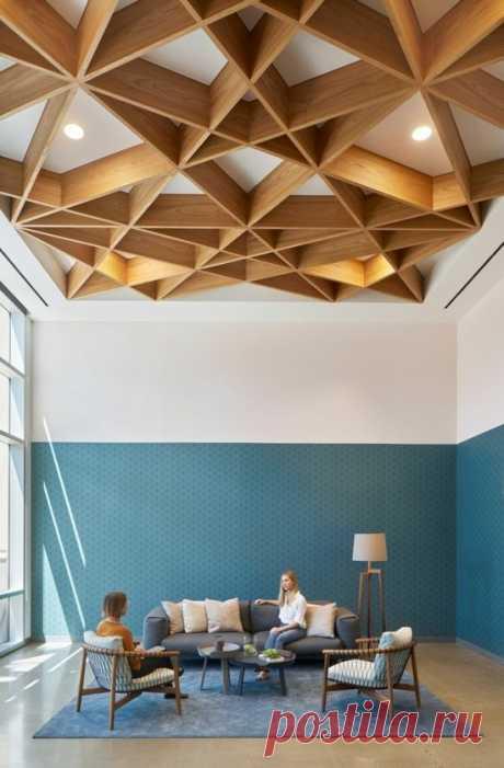 Красивые современные потолки | Роскошь и уют