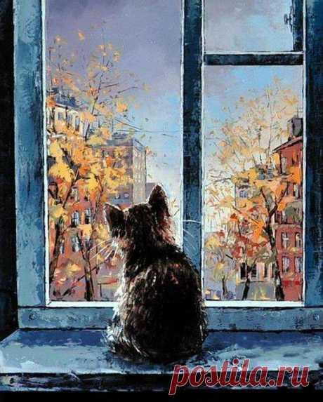 "(8) Море идей - рукоделие, декор дома, поделки и hand made. - Хроника Александр Гунин ""Осень из окна"""