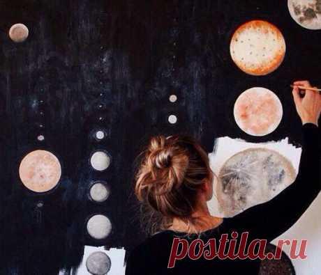 У каждого свой космос. И нечего искать в нём свои звёзды. © A. Hoffmann