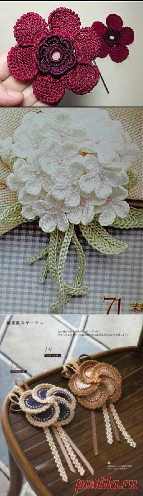 Поиск на Постиле: цветы крючком