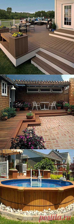Уютная терраса на даче: 10 фото и рекомендаций