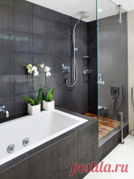 Душевая кабина с ванной - подборка фото