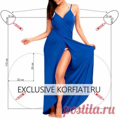 Выкройки пляжных платьев от Анастасии Корфиати
