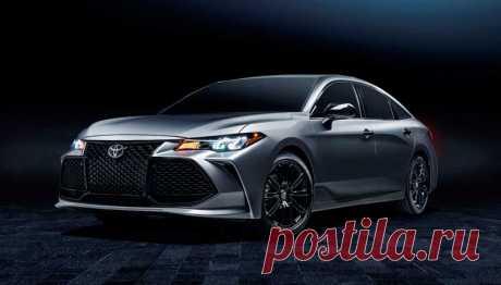 Седан Toyota Avalon 2021 обновился