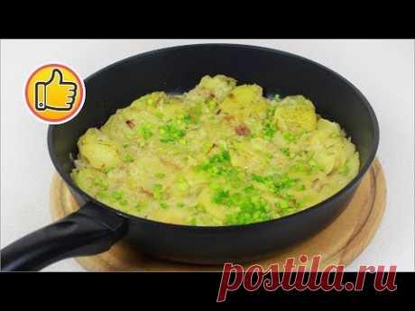 Быстрый Тушенный Картофель в Молоке   Stewed Potatoes in Milk