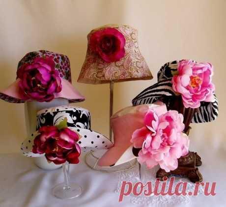 Выкройка летней шляпки (Шитье и крой) – Журнал Вдохновение Рукодельницы