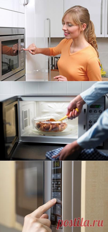 Вопрос-ответ: Опасна ли еда из микроволновки - tochka.net