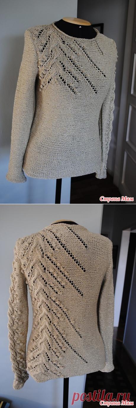 El pulóver original - la Labor de punto - el País de las Mamás