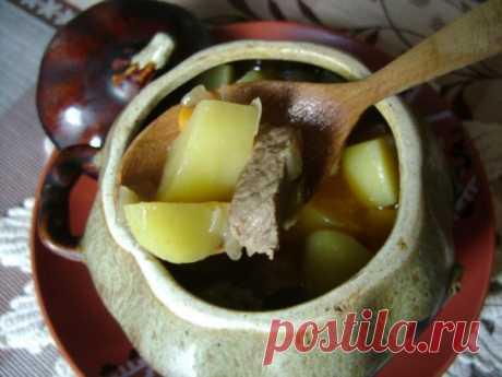 Мясо в горшочках с картошкой в духовке: пошаговый рецепт жаркого