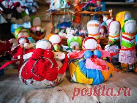 Обережные славянские куколки. 5 схем