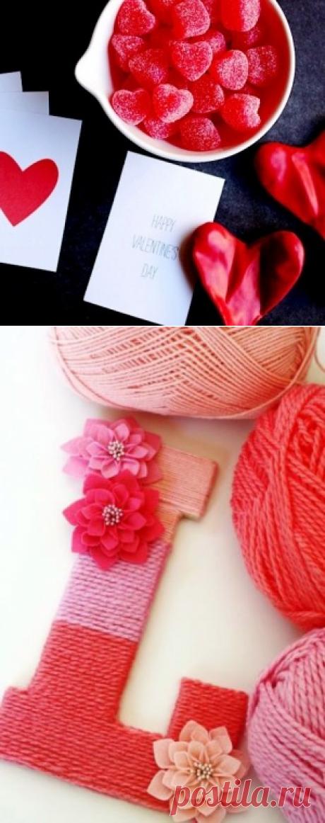 Как сделать подарок ко дню святого валентина своими руками - делаем своими руками