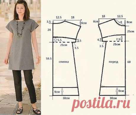 10 простых и эффектных платьев с выкройками
