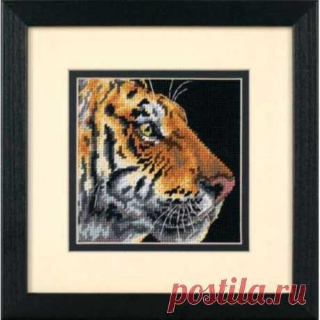 07225 Профиль тигра. Dimensions. Набор для полной зашивки гобеленовым швом