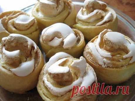 Как приготовить итальянское нежнейшее печенье розочки - рецепт, ингредиенты и фотографии