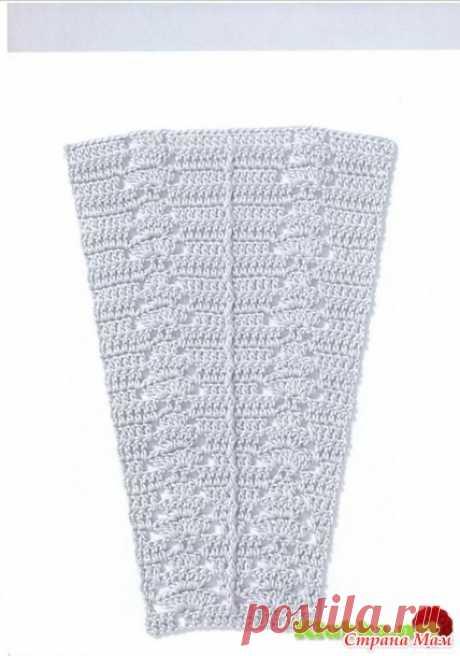 Схемы узоров для расширения полотна (крючок) - Вязание - Страна Мам